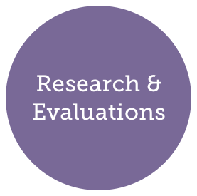 Research and Evaluations header