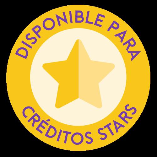 Disponible para creditos stars