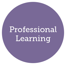 Professional Learning header